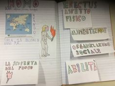 LA STORIA DELL'UOMO – Maestra Mihaela Journal, Education, School, Cl, Michelangelo, Studio, Geography, Hu Ge, Journal Entries
