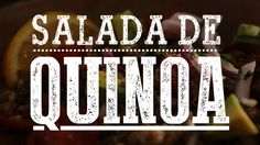 SALADA DE QUINOA com Lentilha, Abacate e Tomate