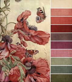 February Monthly Challenge Color Palette