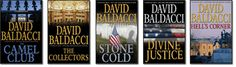 David Baldacci.. The Camel Series.. anything he writes is good!