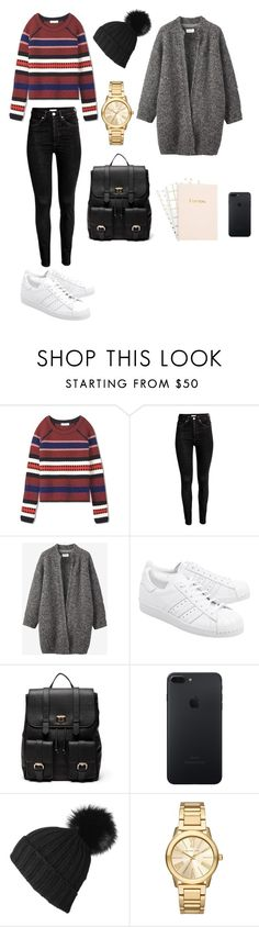 """#43"" by maksimchuk-vika ❤ liked on Polyvore featuring Tory Burch, Toast, adidas Originals, Sole Society, Black and Michael Kors"