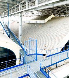 bernard tschumi le fresnoy art center section Bernard Tschumi, Steel Art, Calais, Acropolis, Architecture Drawings, Staircase Design, Ecology, Game Art, Skyscraper