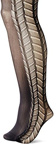 Betsey Johnson Women's Wide Chevron Tight (2-Pack) -- Read more at the image link.