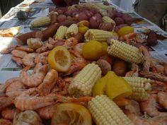 Shrimp Boil! Yum!!