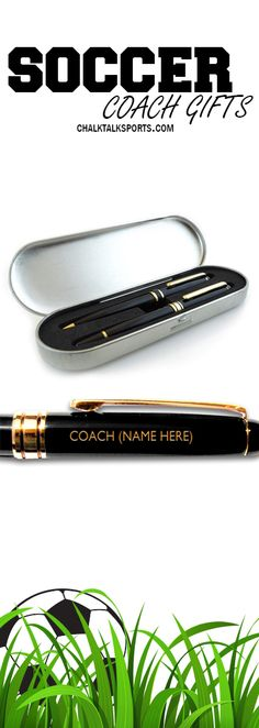 This personalized pen for coach, is a perfect gift.