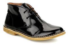 Kickers Crepy (Noir) - Chaussures à lacets chez Sarenza (70469)