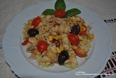 salata de paste cu ton Paste, Oatmeal, Breakfast, Recipes, Food, The Oatmeal, Morning Coffee, Rolled Oats, Essen