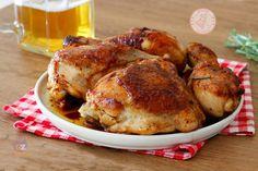 SECONDI PIATTI DI NATALE Chicken And Beef Recipe, Chicken Recipes, Beer Recipes, Crepes, Italian Recipes, Nutella, Pork, Food And Drink, Turkey