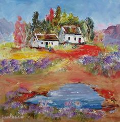 Hill Cottages (oil on stretched canvas) in the Paintings category was listed for on 19 Sep at by Louis Pretorius in Cape Town Cottage, Canvas, Antiques, Painting, South Africa, Art, Antiquities, Art Background, Antique