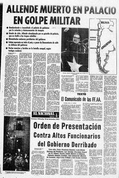 Golpe de estado en Chile Victor Jara, Chili, Kokoro, Cold War, World History, Human Rights, Truths, Military Dictatorship, Political Art