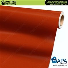 Avery SW900-321-O MATTE ORANGE Vinyl Vehicle Car Wrap Decal Film Sheet Roll