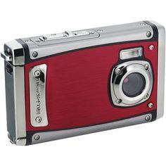 Bellhowell 20 megapixel 1080p hd splash underwater camera red