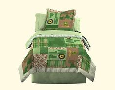 John Deere...my boys got this bedding for Christmas! They can't wait for their JD room to be finished.