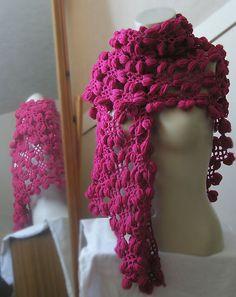 Peanut Flower Crochet Shawl PDF Pattern by CrochetHookerx on Etsy