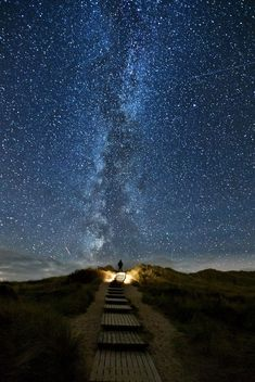"""My God, it's full of stars"". Photo by Thomas Zimmer"