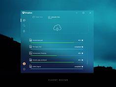Dropbox Fluent Design