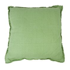 In The Mood - Wicker - Kussen - 50X50 - groen