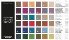 UN ADELANTO DE LO QUE SE LLEVARA EN OTOÑO-INVIERNO 2015-2016 Hola Chicas!!! Les tengo un adelanto de los colores que se usaran para este otoño-invierno 2015-2016, lo que me encanta actualmente de la moda es que los diseñadores estan sacando su colecciones para dos años y mucha de la ropa que ya tenemos le podemos agregar accesorios de moda para seguir usándola, a continuación les dejo unas fotografías con la tabla de colores que se llevara y algunos diseños Ready-To-Wear de diseñadores…