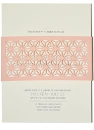 wedding invitations by paperorchid.com. art deco influence