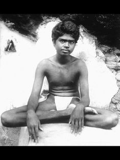 Young Sri Ramana Maharshi