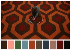 palette colori film #pantone