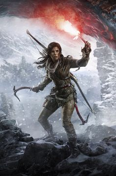 Rise of the Tomb Raider Lara Croft Video Game Poster