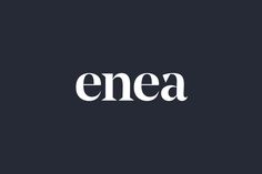 Logotype for furniture design and manufacturing business Enea designed by Clase bcn