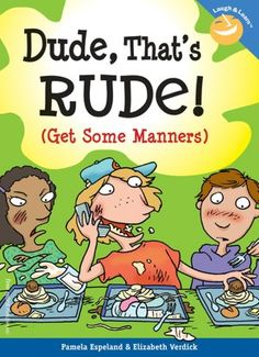 This page lists fun children's book for teaching manners to kids in elementary and middle school. Compiled by teachers for other teachers, parents, and librarians. Teaching Manners, Teaching Social Skills, Teaching Kids, Social Activities, Manners Preschool, Manners Activities, Learning Skills, Teaching Music, Social Thinking