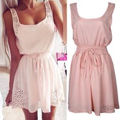 2015 Desigual sexy club Robe Chiffon lace A Line dresses with bow belt Sleeveless Casual summer dress Cute Mini Beach clothes-in Dresses from Women's Clothing & Accessories on Aliexpress.com | Alibaba Group