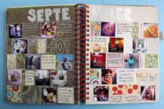 Homemade Smash book page - September Istagrams | Flickr - Photo Sharing!