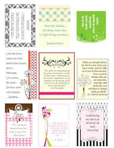 Page of Printable Quotes