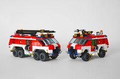 Lego City Sets, Lego Sets, Art Pics, Art Pictures, Lego City Truck, Lego Fire, Emergency Response, Lego Stuff, Lego Technic