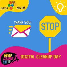 In the digital world, similar to the environment, there is a huge amount of trash that takes away storage space from our smartphones, tablets, laptops, PCs and servers. If we delete all unnecessary files, apps, photos and videos, we are not just extending the life of our gadgets and saving a huge amount of CO2, but we also feel more balanced, we take control over our lives and we will be more efficient and satisfied. Sounds like a win-win! The carbon footprint of the internet and the systems sup Lets Do It, Do You Really, Old Apps, Online Calendar, Mobile Storage, Clean Up, The Life, Storage Spaces