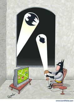 Batman doesn't have time for your shenanigans!!