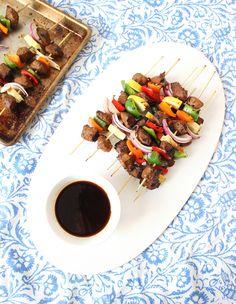 Healthy Beef Shish Kebab Recipe