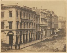 North side of Montgomery Street, from California to Sacram… | Flickr