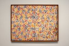 christopherschreck: Jasper Johns, Corpse and Mirror II, 1974-75.