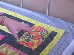 Absolutely ESSENTIAL for beginners, for adding border with ACCURATE Measurements and to insure your quilt LAYS FLAT!  Excellent Video for Such!