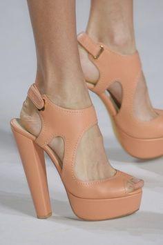 sorbet-colored platform sandals