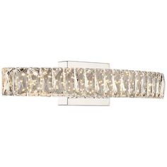 "Platinum Collection Gala 24""W Polished Chrome LED Bath Light - #18C99 