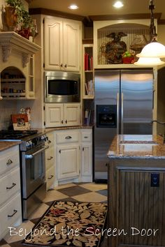 Welcome to Our Home – Kitchen   Beyond the Screen Door