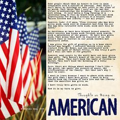Being an American | on-being-an-american