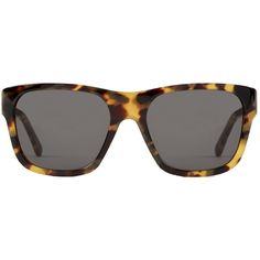RETROSUPERFUTURE Super Buzz Cheetah (3,750 MXN) ❤ liked on Polyvore featuring accessories, eyewear, sunglasses, flattop sunglasses, women, cheetah sunglasses, dot glasses, cheetah print glasses, cheetah glasses and retrosuperfuture