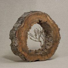 Et cela arrivera: avant qu'ils appellent, je veux ant - Bois Flotté Deco Ideas Driftwood Projects, Driftwood Art, Wire Tree Sculpture, Ribbon Sculpture, Deco Nature, Wire Trees, Tree Branches, Wood Burning Art, Wood Creations