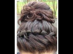 Waterfall Braided Headband Hair Tutorial