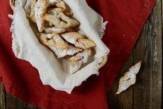 Fattigmann Cookies – Traditional Norwegian Christmas Treats – Outside Oslo Norwegian Waffles, Norwegian Food, Norwegian Recipes, Swedish Recipes, Scandinavian Food, Scandinavian Christmas, Christmas Treats, Christmas Cookies, Christmas Baking