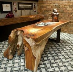 Dining table from fallen reclaimed wood live edge not the chairs or raw edge table most excellent watchthetrailerfo