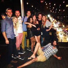 Reunion with the gang #nakedforsatan #melbourne #rooftopvibes #apollocrew #randomonthefloor