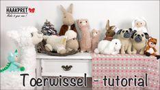 Wisselen van kleur bij rondhaken – hakenmetmadebypetra Teddy Bear, Toys, Youtube, Petra, Animals, Amigurumi, Craft Work, Activity Toys, Animales