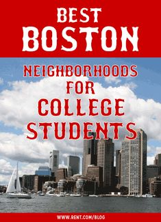 Boston is home to a whopping 35 colleges, universities and community colleges, which means there are tons of Boston neighborhoods that are student-friendly. If you're one of the many college students attending school in Beantown, the key is to find a Boston apartment in an area that's located near class and doesn't have rent that's outrageously expensive. [Rent.com Blog] #Boston #college #student #offcampus